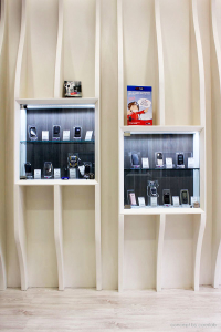 progettazione negozio telefonia